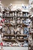 De gevulde dieren bij Macef-huis tonen in Milaan Stock Afbeeldingen