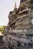 De gevulde lagen van de pagode Stock Foto