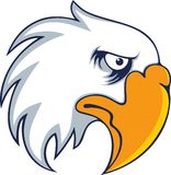 De gewaagde vector van de adelaarsvogel Royalty-vrije Stock Afbeelding