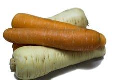 De Gewassen van de wortel stock foto's