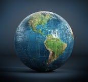 De geweven aarde van de kringsraad Royalty-vrije Stock Afbeelding
