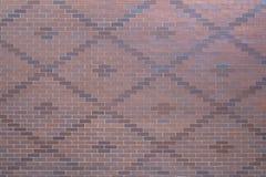 De geweven achtergrond van het baksteenpatroon of achtergrondoppervlakte Stock Afbeelding