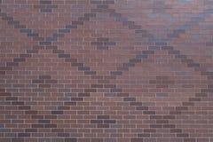 De geweven achtergrond van het baksteenpatroon of achtergrondoppervlakte Royalty-vrije Stock Foto