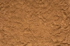 De geweven achtergronden is uit zand, close-up van grond, geel s royalty-vrije stock foto