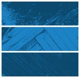 De geweven banners van Grunge Stock Afbeelding