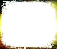 De geweven grens van Grunge - stock foto
