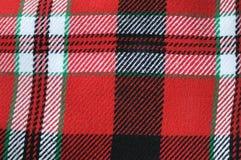 De geweven plaid van het seamlesgeruite Schotse wollen stof Stock Afbeeldingen