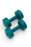De Gewichten van de Apparatuur van de oefening Stock Fotografie