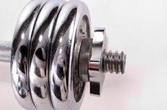 De Gewichten van het chroom Stock Foto