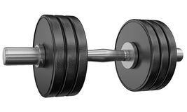 De gewichten van Weightlifting Royalty-vrije Stock Afbeelding