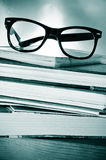 De gewoonte van de lezing of het bestuderen stock afbeelding