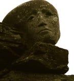 De gezichten van de steen Royalty-vrije Stock Afbeeldingen
