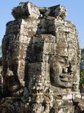 De gezichten van Kambodja Stock Foto's