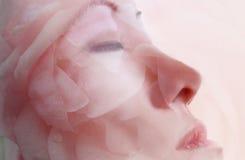 De gezichts Therapie van het Masker van de Bloem Royalty-vrije Stock Afbeeldingen