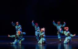"""De gezichtsmaskers - het Pioenpaviljoen--jiangxi opera""""four dromen van linchuan† Stock Foto's"""
