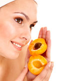 De gezichtsmaskers van het fruit. Royalty-vrije Stock Afbeeldingen
