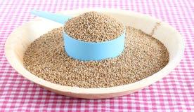 De gezonde Gierst van Voedselkodo Stock Foto