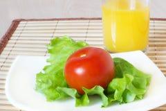De gezonde salade van de voedsel verse groente Royalty-vrije Stock Afbeelding