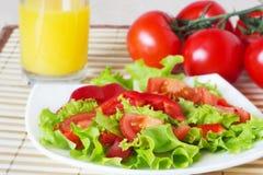 De gezonde salade van de voedsel verse groente Stock Foto