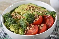 De gezonde Salade van de Veganist royalty-vrije stock foto's