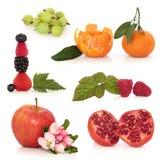 De gezonde Selectie van het Fruit royalty-vrije stock afbeelding