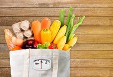 De gezonde voeding, eet Gezonde voedsel schone het eten voedselgezondheid vegetabl Royalty-vrije Stock Afbeelding