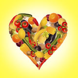 De gezonde voeding is essentieel Royalty-vrije Stock Fotografie
