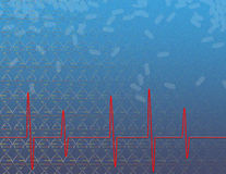 De gezondheid, de genetica en de geneeskunde van het hart Royalty-vrije Stock Foto
