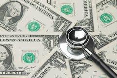 De gezondheid van de economie van de beoordeling, kosten van medische behandeling Royalty-vrije Stock Fotografie