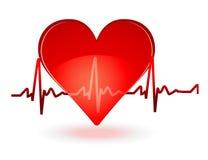 De gezondheid van het hart Stock Foto's