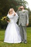 De gezondheid van het huwelijk Stock Foto