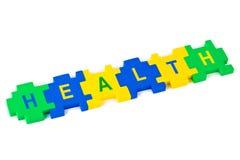 De Gezondheid van het raadsel Stock Fotografie