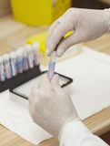De gezondheidszorg van de de testgeneeskunde van het laboratorium Stock Fotografie