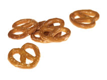 De gezouten Snacks van de Pretzel royalty-vrije stock afbeelding