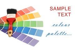 De gids van de kleur voor selectie royalty-vrije stock afbeelding