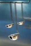 De gietlepels van de keuken Royalty-vrije Stock Afbeeldingen