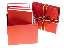 De gift van boeken Stock Afbeeldingen