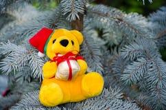 De gift van de teddybeer Royalty-vrije Stock Afbeeldingen