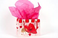 De Gift van de valentijnskaart Royalty-vrije Stock Foto