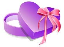 De Gift van de valentijnskaart Stock Illustratie