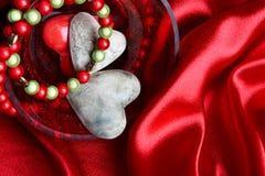 De gift van de valentijnskaart royalty-vrije stock afbeeldingen