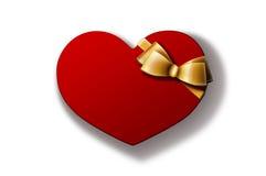 De gift van de valentijnskaart Royalty-vrije Stock Foto's