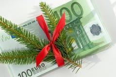 De gift van het geld Stock Foto's