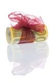 De gift van het geld van 200 euro royalty-vrije stock afbeeldingen