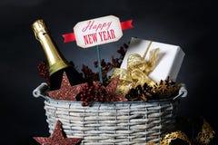 De gift van het nieuwe jaar Stock Afbeelding