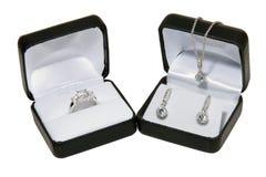 De gift van juwelen Royalty-vrije Stock Foto's