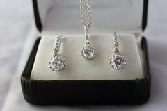 De gift van juwelen stock foto's