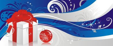 De gift van Kerstmis Royalty-vrije Stock Afbeelding