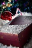 De Gift van Kerstmis royalty-vrije stock afbeeldingen