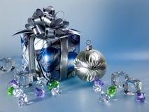 De gift van Kerstmis Stock Foto's